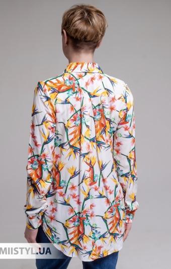 Блуза Ingvar BL-09-782 Белый/Принт