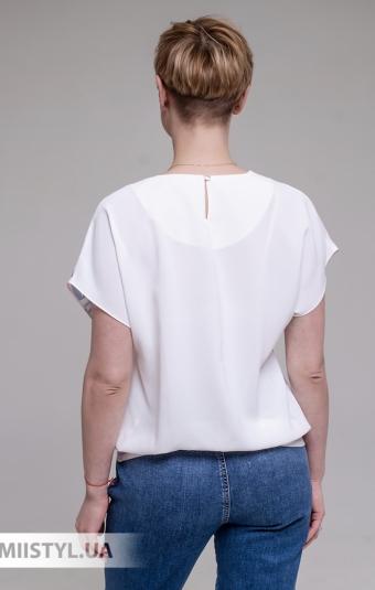 Блуза Merkur 0905106 Белый/Пудра/Принт