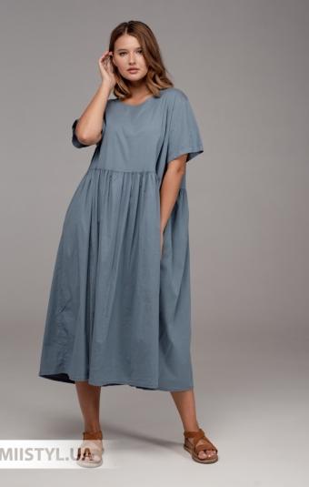 Платье Zelante 3439 Деним