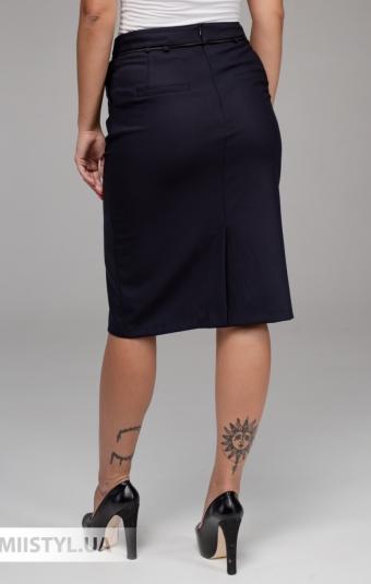 Юбка Sisline 3803 Темно-синий