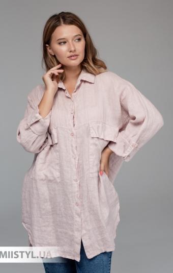 Блуза Zelante 7197 Пудра