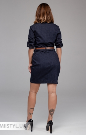 Платье Asil 891/21310 Джинсовый
