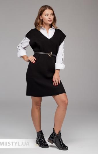 Платье Lara 2138 Черный