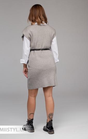 Платье Lara 2138 Серый