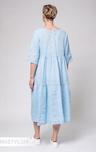 Платье Miss Cocco 6087 Голубой