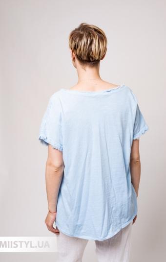 Блуза Miss Cocco 1846A Голубой