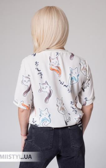 Блуза Meissi 7001 Бежевый/Принт