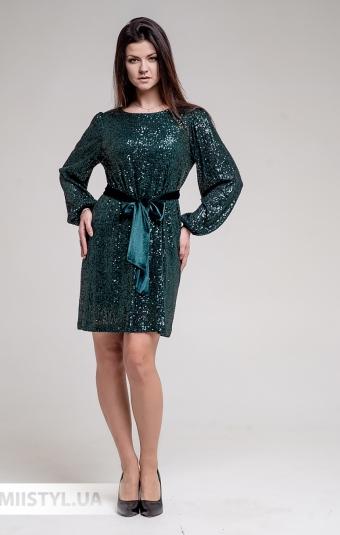 Платье Nomens 831 Изумрудный