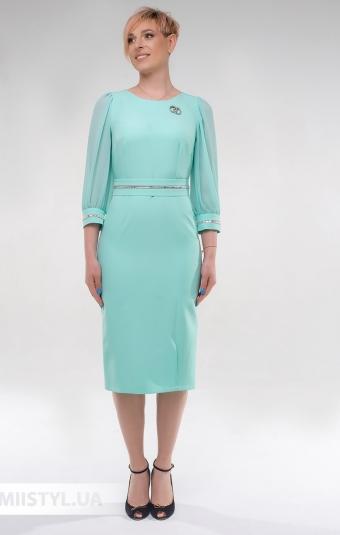 Платье Effective 12030 Мятный