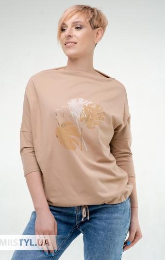 Блуза Giocco 5950 Кемел/Принт