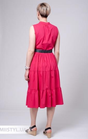 Платье Asil 960-20750 Малиновый