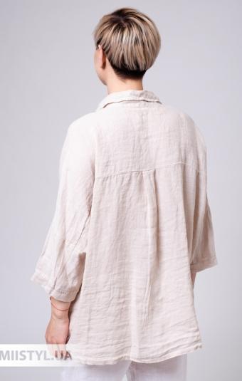 Блуза Puro Lino 8967 Бежевый