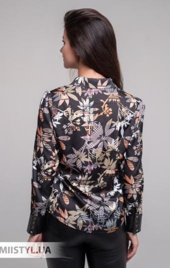 Блуза Merkur 0675067 Черный/Принт