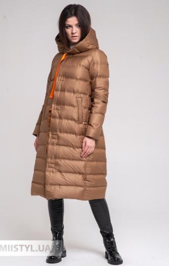 Пальто Mydress 1463П Темно-бежевый