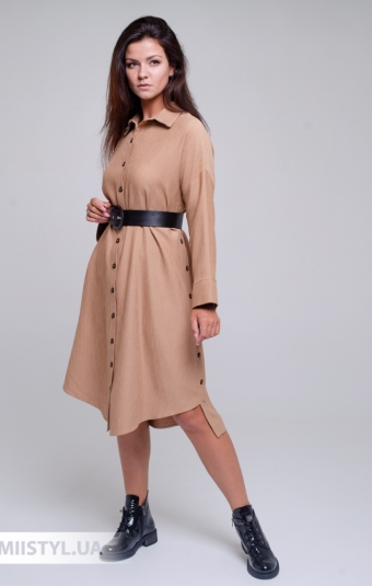Платье La Julyet 6680 Бежевый