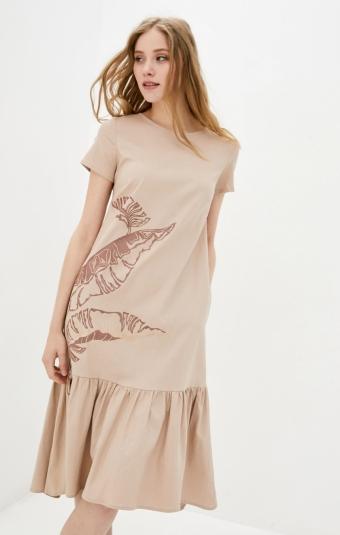 Платье RMD2309-21DD Бежевый