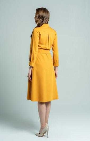 Платье Petra Барбара Горчичный