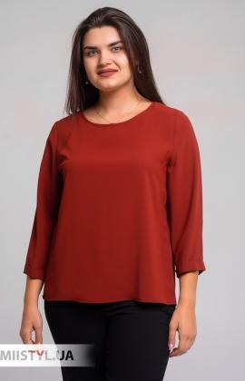 Блуза Pretty Lolita 12865 Темно-терракотовый