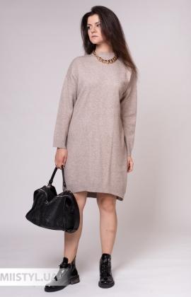 Платье Lara 2102 Бежевый