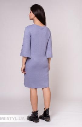 Платье Serianno 10С5140 Лиловый/Люрекс