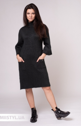 Платье Serianno ELB2250 Хаки/Люрекс