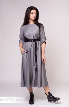 Платье Moomo B338 Серый