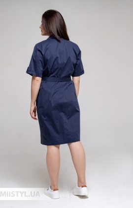 Платье Asil 888/21318 Темно-синий