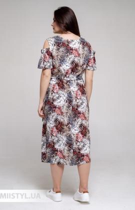 Платье GrimPol 2118 Красный/Принт
