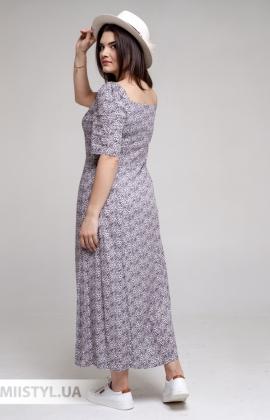 Платье GrimPol 2117 Синий/Принт