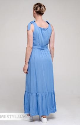Платье Рута С 4379ВС Голубой