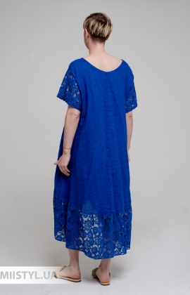 Платье Miss Cocco 6116 Электрик