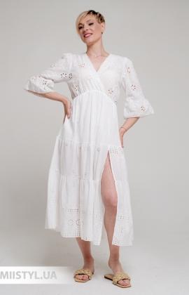 Платье Betty & Co K0121 Белый