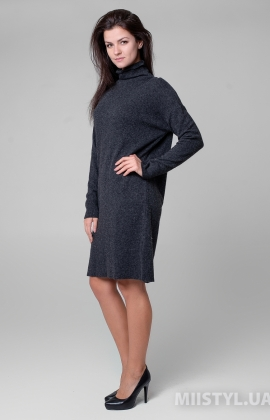 Платье Serianno 10С5942 Темно-серый
