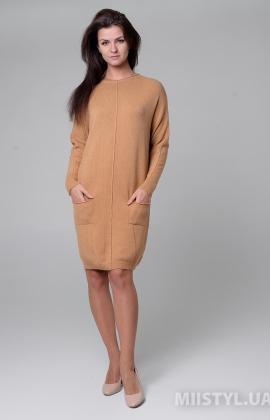 Платье Fast 8696 Кемел