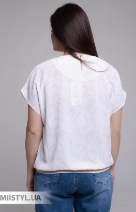 Блуза Merkur 0926111 Молочный/Желтый/Принт