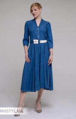Платье DZYN 9043 Джинсовый