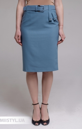 Юбка Merkur 1052048 Серо-голубой