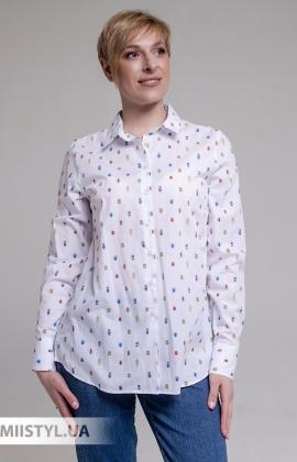 Блуза Ingvar BL-09-2122 Белый/Принт