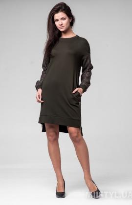 Платье Miss Lilium M20K10899 Хаки