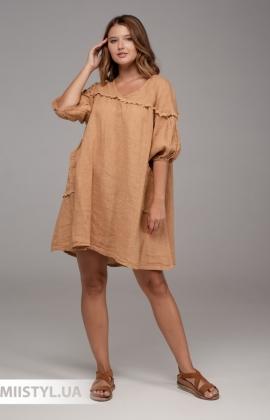 Платье Miss Cocco 8029 Кемел