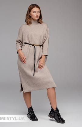 Платье Lara 2101 Бежевый