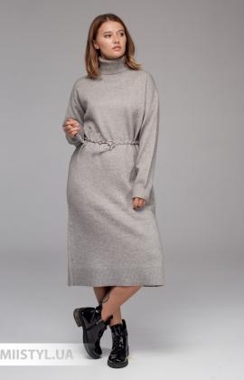 Платье Lara 2113 Серый