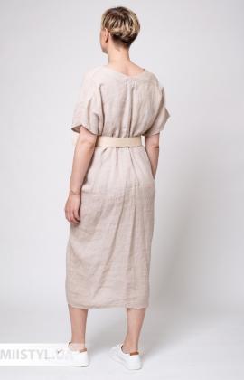 Платье Puro Lino 8843 Бежевый