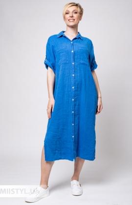 Платье Puro Lino 8826 Электрик