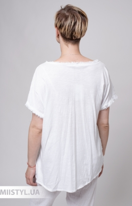 Блуза Miss Cocco 1846A Белый