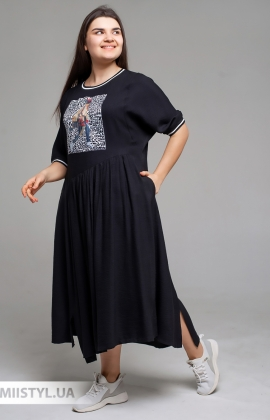 Платье Tessy 6427 Черный
