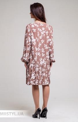 Платье GrimPol 2005 Капучино/Принт