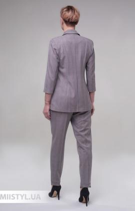 Костюм Merkur 604-41003 Серый/Синий/Клетка