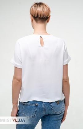 Блуза Pretty Lolita 13363 Белый/Принт