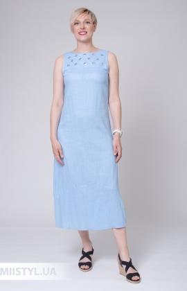 Платье Рута С 4414ЛН Голубой